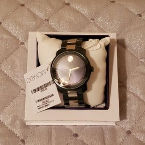 Authentic movado bold/unisex